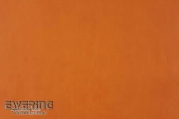 Orange Unitapete Papiertapete