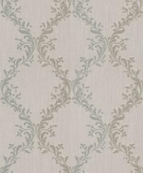 Rasch Textil Velluto 23-074825 Textiltapete braun Schlafzimmer Barock