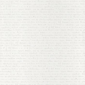 Papiertapete Schrift Creme-Weiß