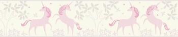 Borte Weiß Rosa Einhörner