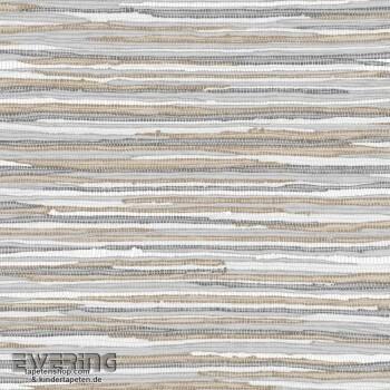 23-148618 Cabana Rasch Textil taupe Grasgewebe-Optik Vliestapete