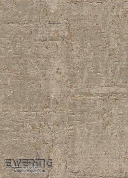 Rasch Textil Vista 5 23-213873 beige-grau Kork-Tapete glänzend