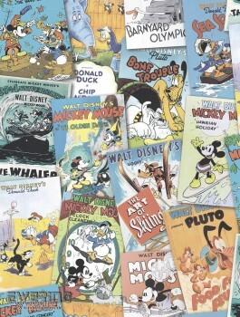 SALE Bunt Comic Mickey wenige Rollen