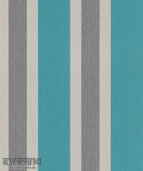 23-362335 Strictly Stripes Meeres-Blau Streifen Vinyltapeten