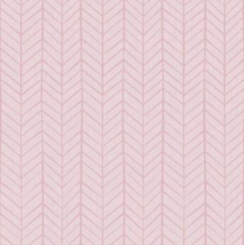 Tapete Rosa Muster Mädchen