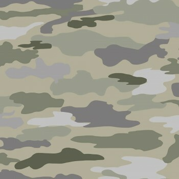 Tapete Camouflage-Muster Khaki
