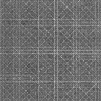 36-TONI69459707 Caselio - Tonic silber Vlies Tapete dunkel-grau Gitter