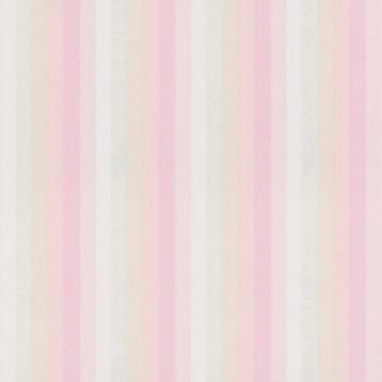 Vliestapete Streifen Rosa
