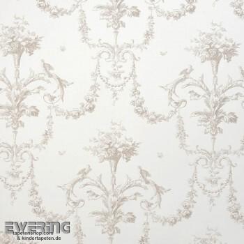36-CHT15441014 Casadeco - Chantilly beige Dekostoff Ornament