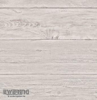Rasch Textil Reclaimed 23-022323 Holzlatten Vlies-Tapete grau
