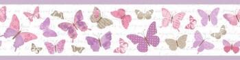 Borte Lila Schmetterlinge