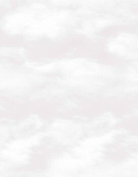 Tapete Wolken Hell-Beige