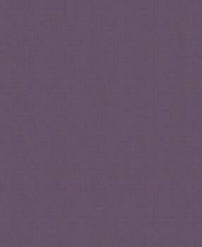 Vliestapete Dunkel-Violett Struktur Uni
