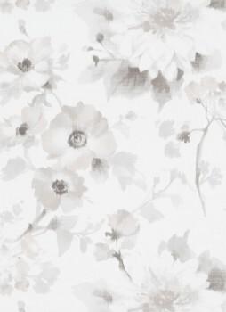 Tapete silber-graue Blumen 33-1005131_L Fashion for Walls