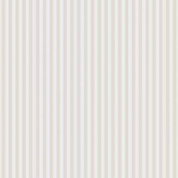 Vliestapete Beige-Weiße Streifen