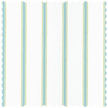 Grün Blau Streifen Dekostoff