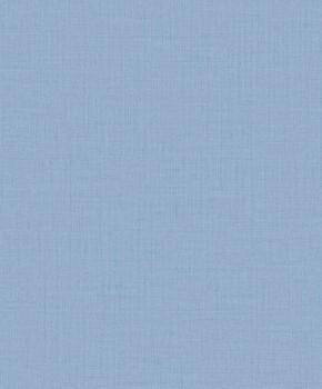 Uni Blau Vliestapete