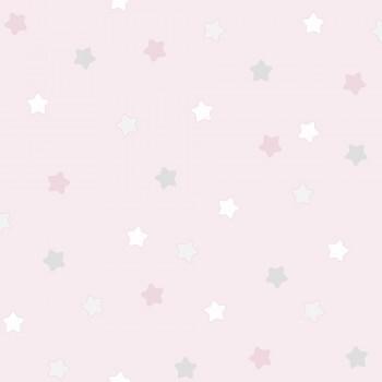 Tapete Kleine Sterne Rosa Mädchen Lullaby