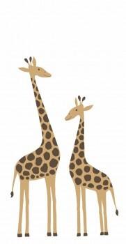 Giraffen-Wandbild Xl