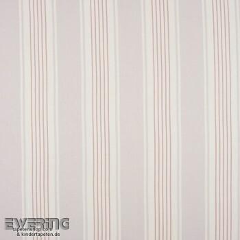 Casadeco - Chantilly 36-CHT22994106 Dekostoff Streifen alt-rosa