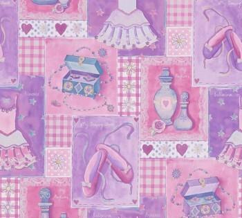 Tapete Pink Prinzessin