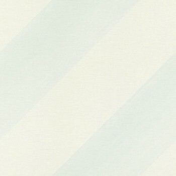 Streifen Schräg Hellblau Weiß Tapete