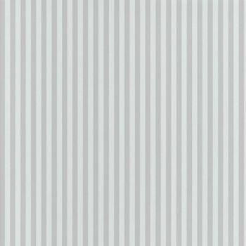 Streifen-Tapete Grau Weiß
