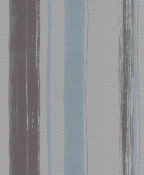 Erismann Sevilla 33-5985-10, 598510 Vliestapete blau Streifen Schlafzimmer