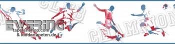 Fußball Creme-Weiß Vinyl-Borte Jungs