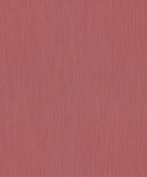 Vliestapete Wein-Rot Streifen Uni