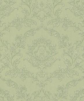SALE Aktion 1 Rolle Rasch Textil Velluto 23-074900 Textiltapete grün Wohnzimmer Barock