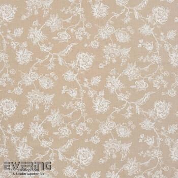 Casadeco - Chantilly 36-CHT22881320 Dekostoff beige Blumenranken