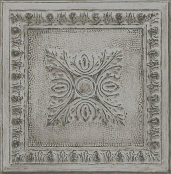 23-024034 Rasch Textil Restored Mustertapete grau Stein Ornamente