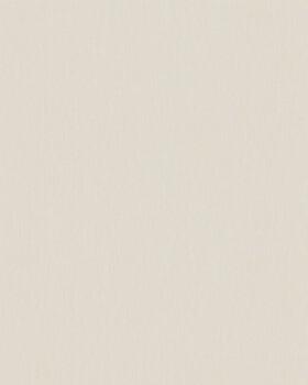 Vliestapete Streifen-Muster Beige Uni