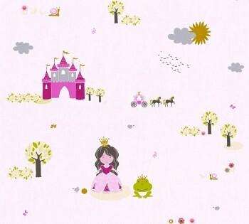 Vliestapete Prinzessin Rosa