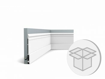 9er Box SX191 Fußleiste Orac Decor Stuckleiste