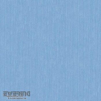 Rasch Textil Cabana 23-148605 Jeans-Blau Unitapete Vliestapete