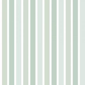 Tapete Mint-Grüne Streifen